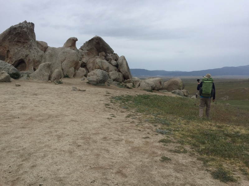 Eagle Rock, on the way to Warner Springs