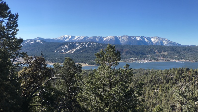One last view over to Big Bear Lake and San Gorgonio