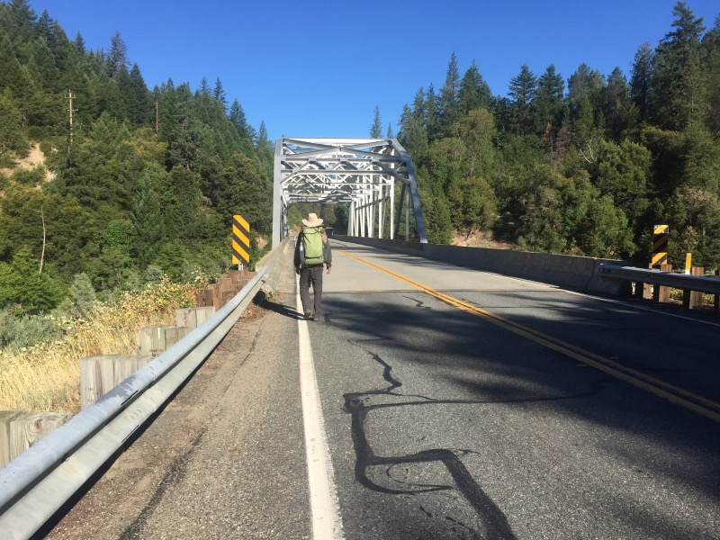 Highway 96 at the Klamath River
