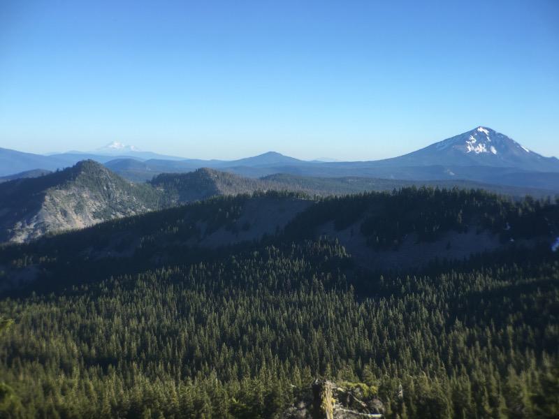 Somewhere near Devils Peak.