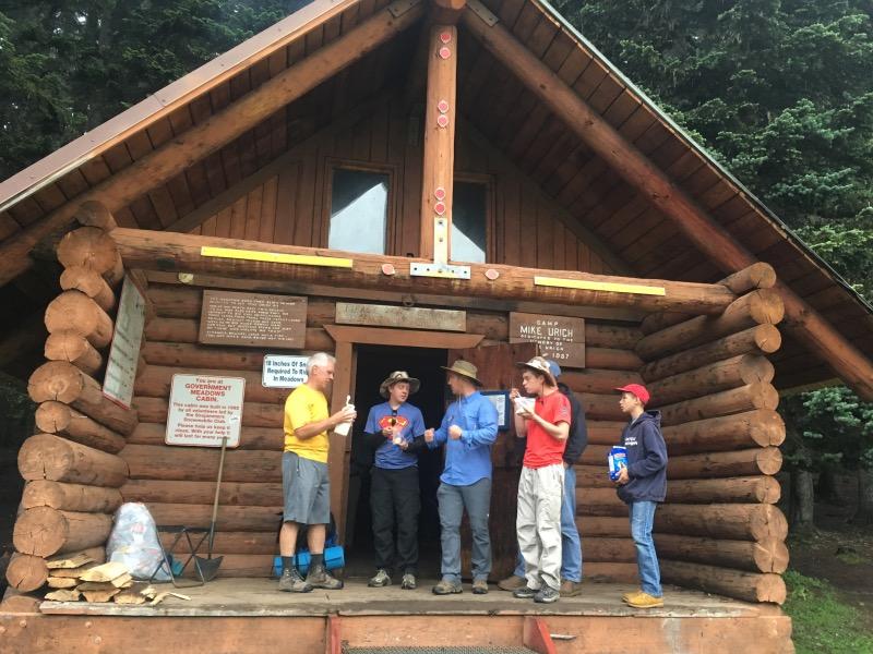 The Urich cabin.