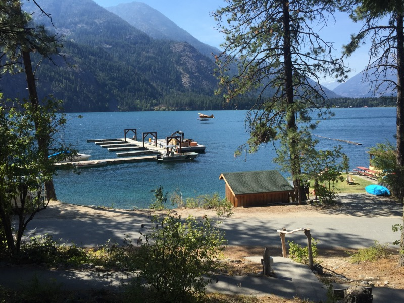 Lake Chelan - third deepest lake in North America, and on the PCT.