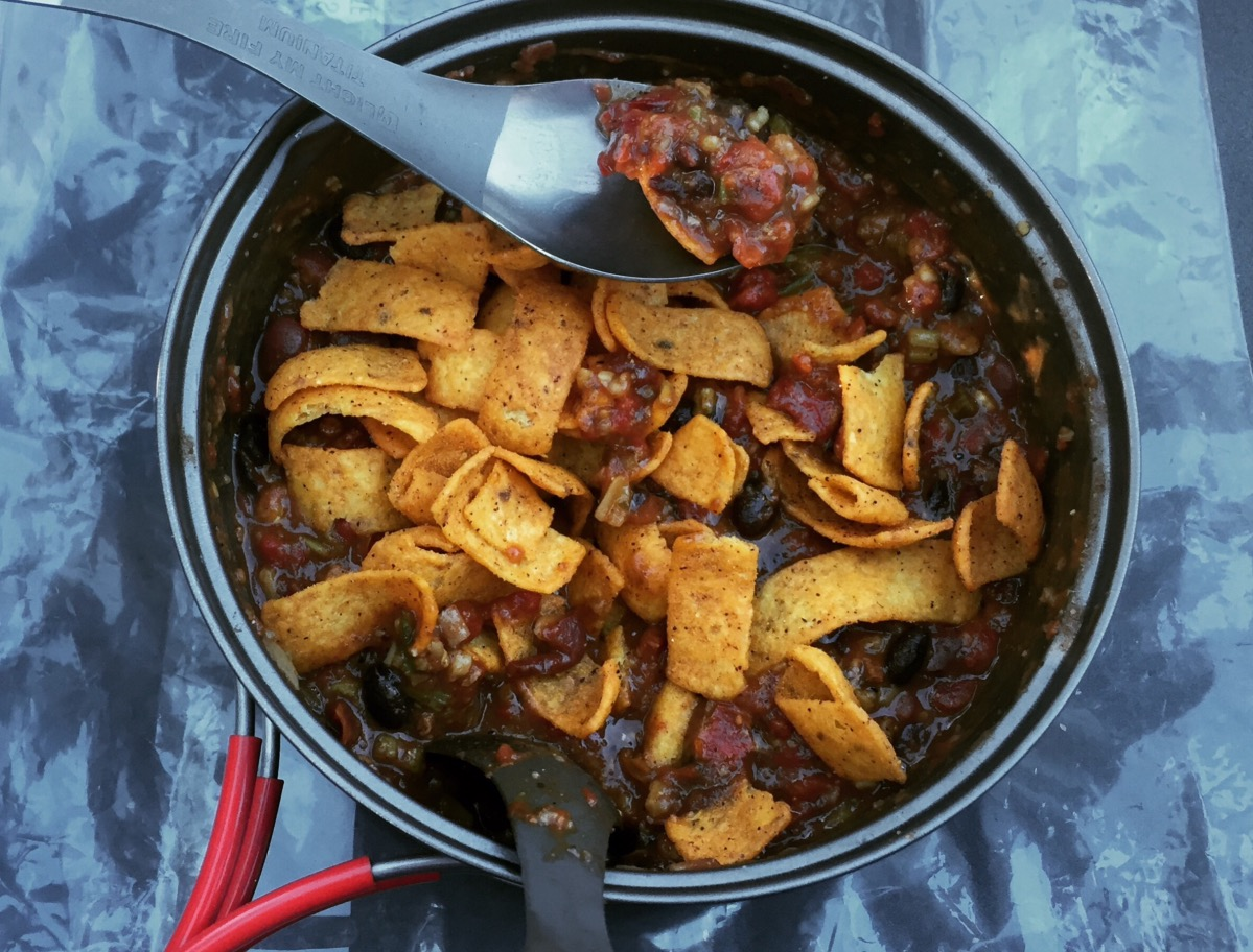One of our favorites: chili with Fritos.